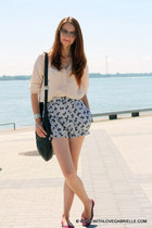 bow bloomer See by Chloe shorts - bow percy Marc by Marc Jacobs purse