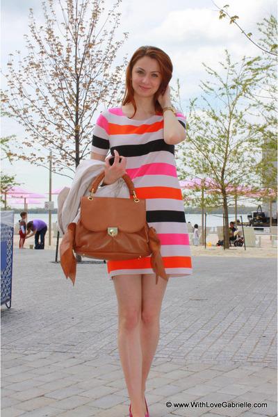 z spoke Zac Posen bag - H&M dress