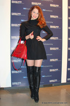 Marc Jacobs bag - La Baccarina boots - Kova & T dress