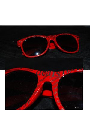 red From fuerteventura sunglasses