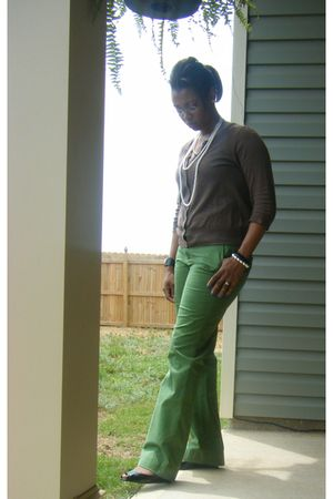 Old Navy cardigan - Old Navy pants - Shiekh shoes