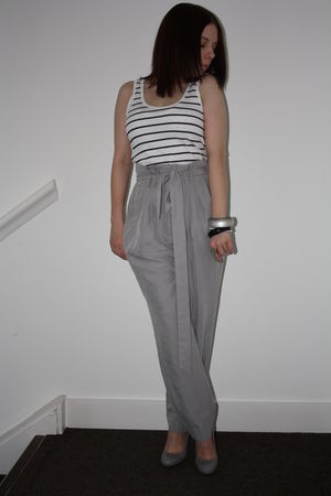 H&M vest - Topshop shoes