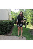Forever 21 dress - Steve Madden wedges - was a jacket tommy bahama vest - Towne