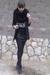White-diy-chanel-shirt-black-savage-scarf