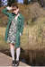 Green-tulle-coat-green-forever-21-dress-gray-thank-you-mart-socks-black-ur