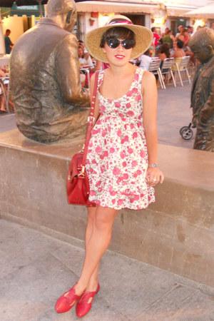 6447d7108e Bimba y Lola bag - hazel shoes - kling dress - Mango sunglasses