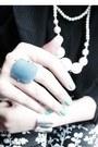 Silver-cristian-lay-bracelet-floral-xavieraq-leggings