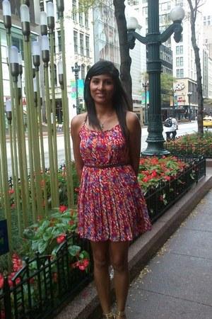 flowers Forever 21 dress