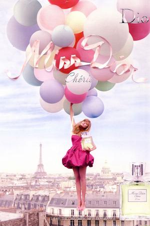 Miss Dior Cherie advertisement