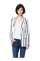 YOINS Striped Blazer