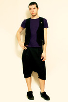 united colors of benetton t-shirt - Sisley vest - pants - Totoro Pin - Ghibli Mu