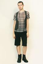 American Apparel t-shirt - From Harajuku Tokyo vest - Vintage from London shorts