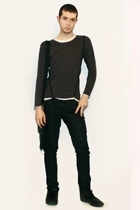 Hanjiro shirt - Hanjiro accessories - Zara pants - united colors of benetton acc