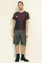 Galeries La Fayette t-shirt - From Harajuku Tokyo vest - from london shorts - bo