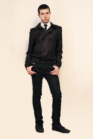 Zara jacket - Misaky shirt - vintage tie - Zara pants