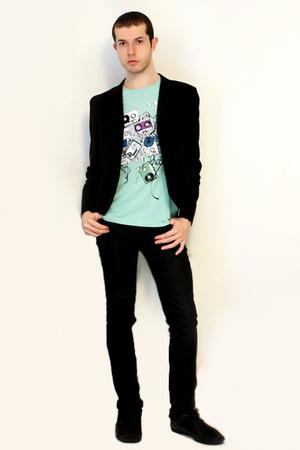 t-shirt - Npfeel jacket - Zara