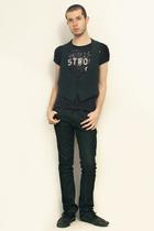 vivienne westwood t-shirt - Vintage form Hanjiro vest - Zara jeans - shoes