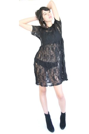 black YO VINTAGE dress