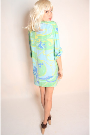 parisian silk YO VINTAGE dress