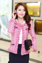 Plaid Korean Autumn Jacket YRB0295
