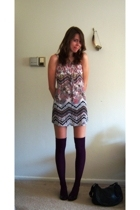 H&M socks - H&M dress