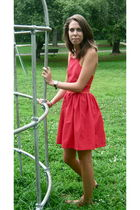 red TombaMomba dress