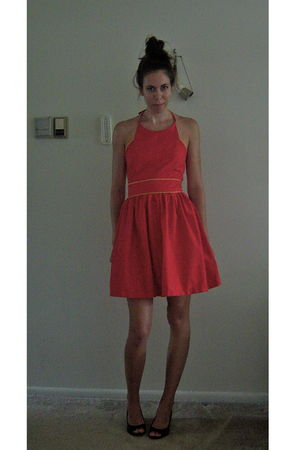 red TombaMomba made by me dress