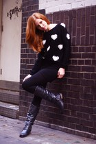 black YUKI TOKYO jumper