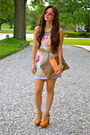 Camel-jeffrey-campbell-shoes-bubble-gum-printed-dress-naaz-boutique-dress