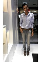 Shoes shoes - Skinny jeans - Camisa cardigan