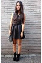 Oasapcom boots - hm dress - Romwecom hat
