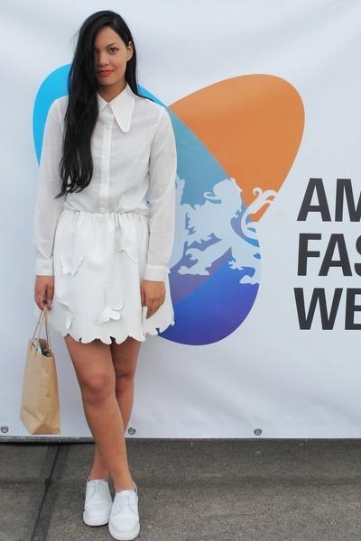 romwe blouse - own design skirt