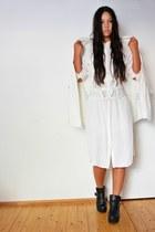 asos belt - Monki dress - Zara jacket