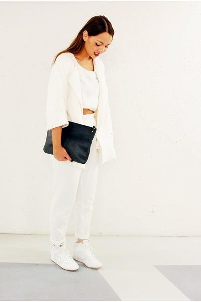 Monki pants - DIY coat - Monki top
