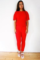 H&M Trend t-shirt - H&M Trend pants - Zara sandals