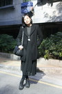Black-zara-coat-black-white-striped-jaket-sweater-black-bag-white-baby-jan