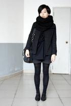 black CENTURY BADENC jacket - black AVEC homme blouse - black dizen de brand pur