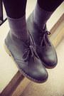 Blue-h-m-socks-navy-clarks-originals-boots-navy-monki-dress
