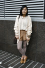 Camel-h-m-shoes-neutral-oversized-monki-shirt-dark-brown-moms-vintage-bag-