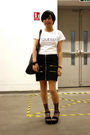 White-designed-by-kikoc-t-shirt-black-skirt-black-diva-bracelet-black-mang