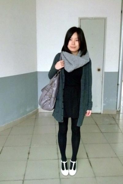 twopercent scarf - lisamina - g2000 blouse - twopercent skirt - twopercent - on