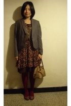 TH jacket - twopercent vest - dress - OBIETTIUO MODA - CnE shoes