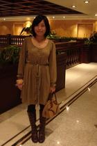 dress - purse - CnE shoes - Guess accessories