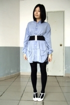 FIRST MING blouse - wish list belt - on & on shoes