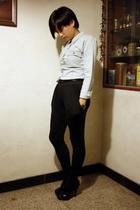 Sie Y shirt - belt - pants - Mango shoes