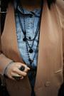 Bronze-h-m-shoes-black-dizen-coat-navy-chapel-leggings-tan-blazer-blue-d
