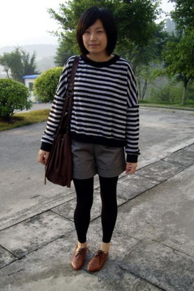 NANING9 t-shirt - KACO shorts -  purse - NANING9 shoes