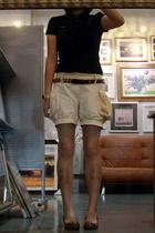 twopercent t-shirt - twopercent belt - shorts - CnE shoes