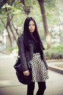 Black-bata-boots-dark-gray-sukiired-jacket-black-uniqlo-sweater