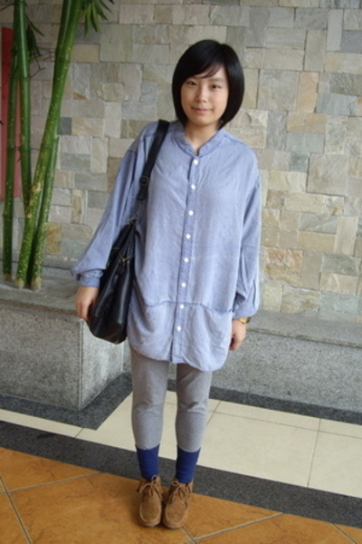 shirt - tights - dizen de brand purse - POLO RALPH LUARAN socks - shoes